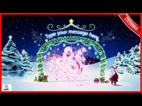 Happy New Year 2017/ Funny Christmas SANTA Video / Holidays/ magic santa 2017 ( version 2 )
