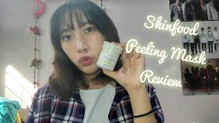 Skinfood Freshmade Pineapple Peeling Mask| Review, Try On & First Impressions