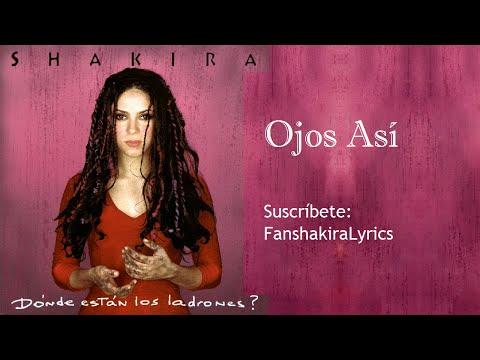 11 Shakira - Ojos Así [Lyrics]