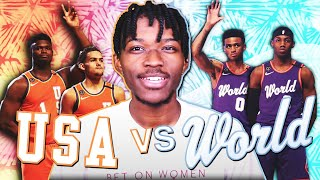 2 EXPANSION REBUILDING CHALLENGE USA VS THE WORLD IN NBA 2K20