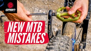 8 Mistakes All New Mountain Bikers Make
