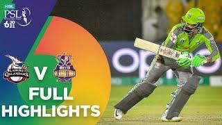 Full Highlights   Lahore Qalandars vs Quetta Gladiators   Match 4   HBL PSL 6    MG2T
