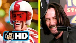 Keanu Reeves TOY STORY 4 Voice-Over B-Roll CLIP