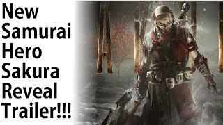 For Honor - NEW Samurai Hero Sakura REVEAL Trailer Reaction!!!