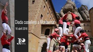 Diada Castellera a Montserrat