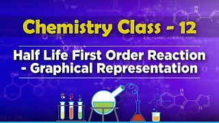 Half Life First Order Reaction - Graphical Representation - Chemical Kinetics - Chemistry Class 12