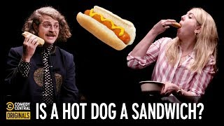 Is a Hot Dog a Sandwich? – Agree to Disagree