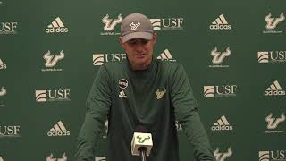 USF Football: Notre Dame Postgame Press Conference