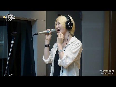 [Moonlight paradise] J-Min - 집 앞에서 (Way Back Home) [박정아의 달빛낙원] 20160815