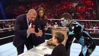 Elijah Signs WWE Contract Off Air. (DRAX SHADOW)