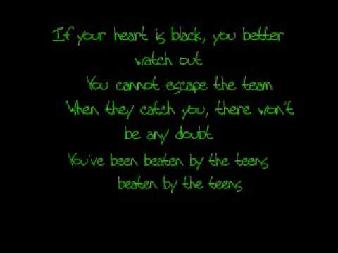 teen titans theme japanese lyrics