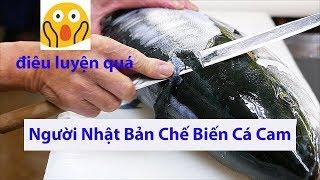 Xem Cách Người Nhật Bản Chế Biến Cá Cam -  (nhanh - gọn - sạch sẽ)