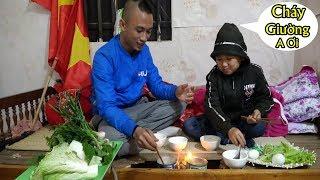 Lẩu Ống Bơ - Chê't Cười Với Anh Em Tam Mao Ăn Lẩu Xuýt Cháy Nhà