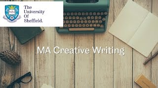 MA in Creative Writing - video