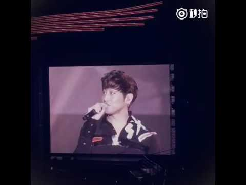 Shinhwa 18th anniversary Eric singing