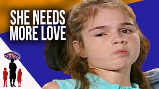 Teenager with Cerebral Palsy Just Wants Dad to Hold Her More | Supernanny