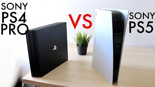PlayStation 5 Vs PlayStation 4 Pro! (Comparison) (Review)
