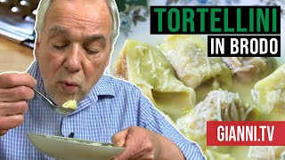 Tortellini in Brodo, Italian recipe, Gianni's North Beach