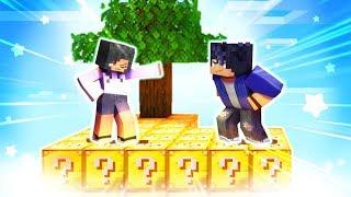 Minecraft Skyblocks but EVERYTHING Is LUCKY BLOCKS