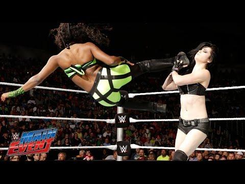 Naomi vs. Paige: WWE Main Event, Sept. 23, 2014