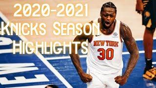 2020-2021 NY Knicks HYPE Season Highlights Video -  Playoff Bound! #KNICKSTAPE