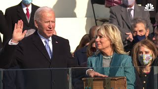 Watch Joe Biden get sworn in as the 46th president of the United States