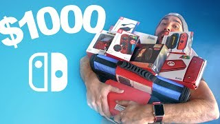 $1000 Nintendo Switch Accessories Haul