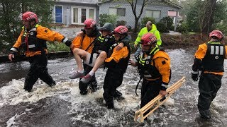 Tropical storm Florence leaves at least 7 dead in Carolinas