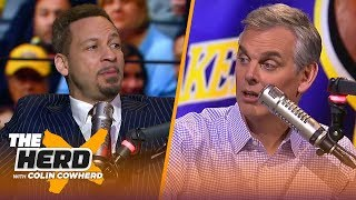 Magic steps down, Chris Broussard on why Lakers need to go all in with LeBron | NBA | THE HERD