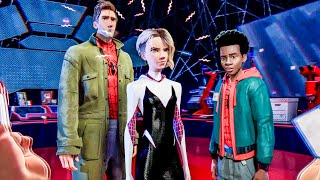 All Spider-People Introduction Scene - SPIDER-MAN: INTO THE SPIDER-VERSE (2018) Movie Clip