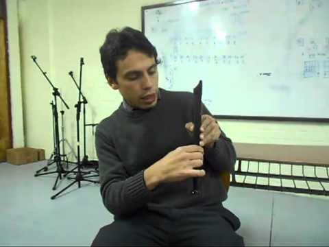 Flauta - El Rín del Angelito - Violeta Parra - 5º básico Colegio Casteliano 2013
