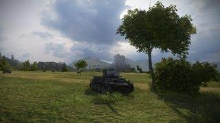 World of Tanks бои без реплеев на vk3601 H