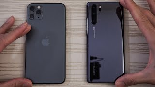 iPhone 11 Pro Max vs Huawei P30 Pro - Speed Test!