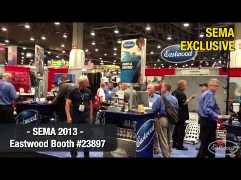 SEMA 2013 EXCLUSIVE - A Glimpse Into Eastwood's Booth