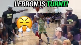 Bryce James BALLS OUT With LeBron In The Gym! Blue Chips Win CLOSE GAME & LeBron Gets HEATED 🔥