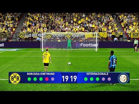 PES 2020 | BORUSSIA DORTMUND vs INTER | Penalty Shootout | UEFA Champions League | Gameplay PC