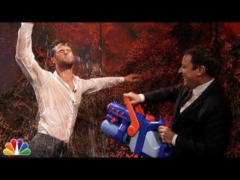 Water War with Chris Hemsworth