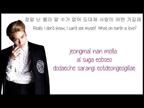 Taemin-I don't know (Rom, Han, Eng)