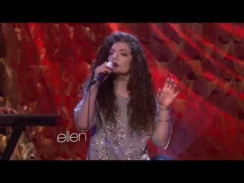 Lorde - Royals (The Ellen Show)