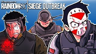 Rainbow Six: Siege - ZOMBIE OUTBREAK! (3 Player Co-op)