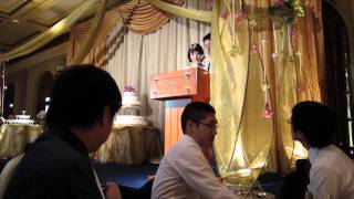 Marriage of Michelle & Shao Feng - Speech