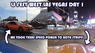 LS Fest West Day 1 Texas Speed Power Hits Both Las Vegas Strips!