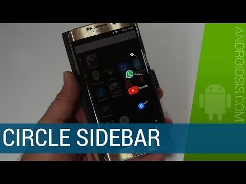 Circle SideBar, la app gratuita que se complementa a la perfección con tu Launcher Android