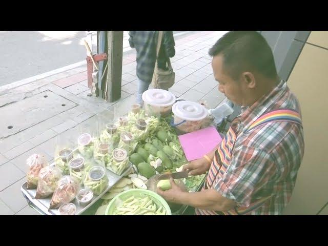 泰國整頓路邊攤 小販被取締收入大減