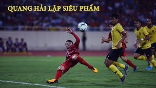 [HIGHLIGHT] Việt Nam 1 – 0 Malaysia: Quang Hải Ghi Siêu Phẩm, Chảo Lửa Mỹ Đình Rực Cháy