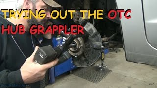 Trying Out The OTC Hub Grappler 6575 Kit