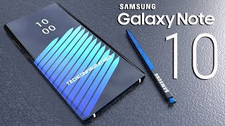 Samsung Galaxy Note 10 Introduction Concept Design,the iPhone XS Killer