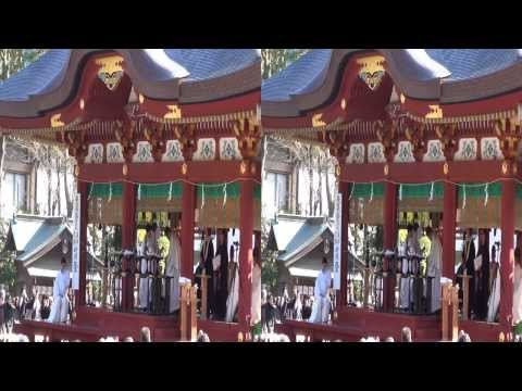 【3D】東日本大震災追悼追悼復興祈願祭 鎌倉 前方より