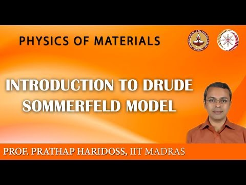 Baixar Mod-02 Lec-16 Introduction to Drude Sommerfeld model