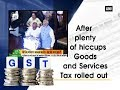 Historic moment of GST launch by President Pranab, PM Modi..